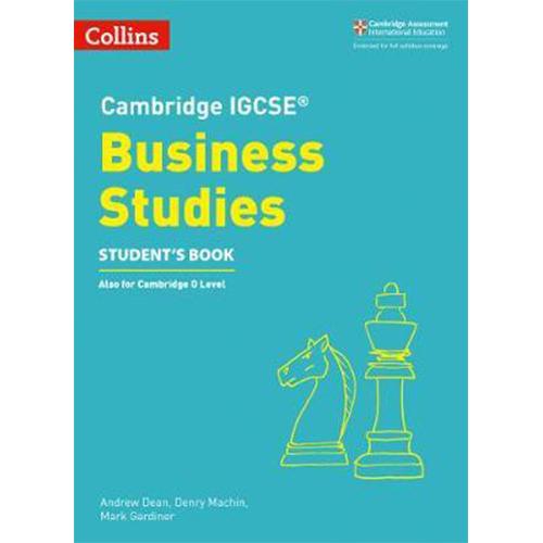 Cambridge IGCSE Business Studies Students Book
