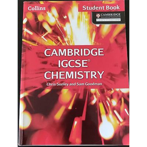 Cambridge IGCSE Chemistry Student Book