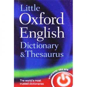 Little Oxford English Dictionary & Thesaurus