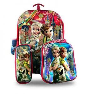 Two-Princesses-with-a-lunch-box-and-a-pencil-case-Back-Pack